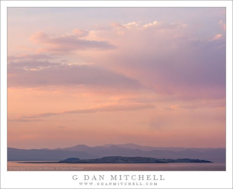 Paoha Island, Mono Lake, Evening