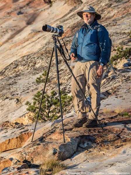 G Dan Mitchell Photographing in the Sierra Nevada