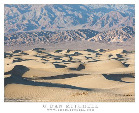 Dunes and Arid Mountains