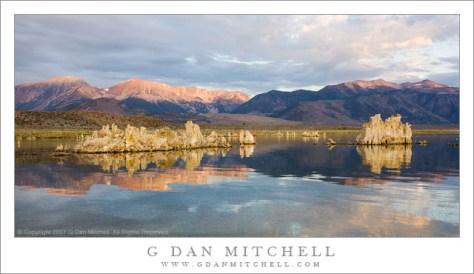 Dawn, Eastern Sierra, Mono Lake