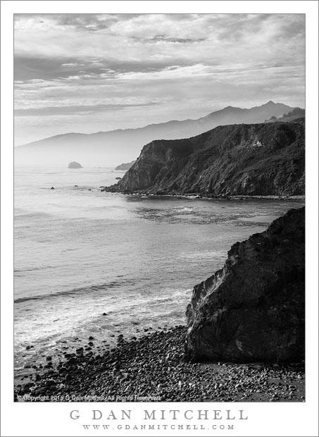Headlands, Cove, Coastal Haze