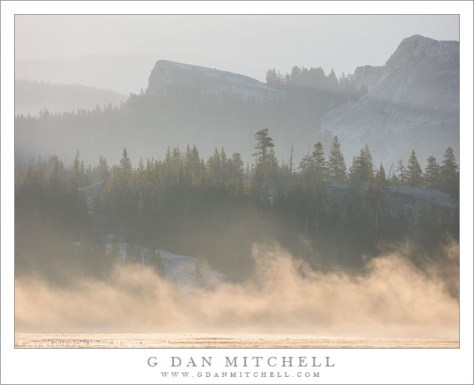 Dawn Fog and Haze, Tuolumne Meadows
