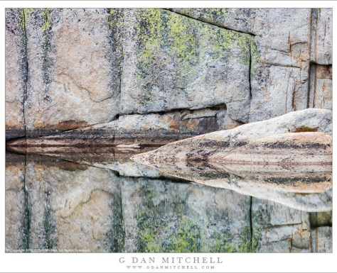 Reflections, Cathedral Range Granite