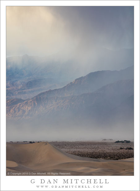 Evening Rain and Sandstorm
