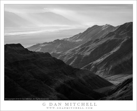 Desert Mountains, Morning Haze