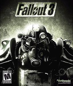 il logo di fallout 3