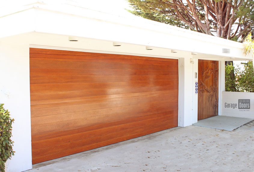 Windows Can Be Added At Your Request While Still Maintaining The Modern  Aesthetic. Stain Grade Custom Garage Doors