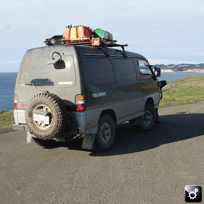 Ari's Delica L300 Chamonix: Ready for adventure!