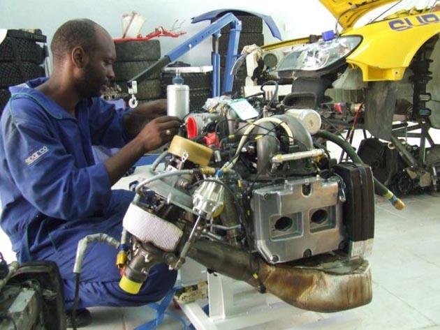 subaru rally engine build