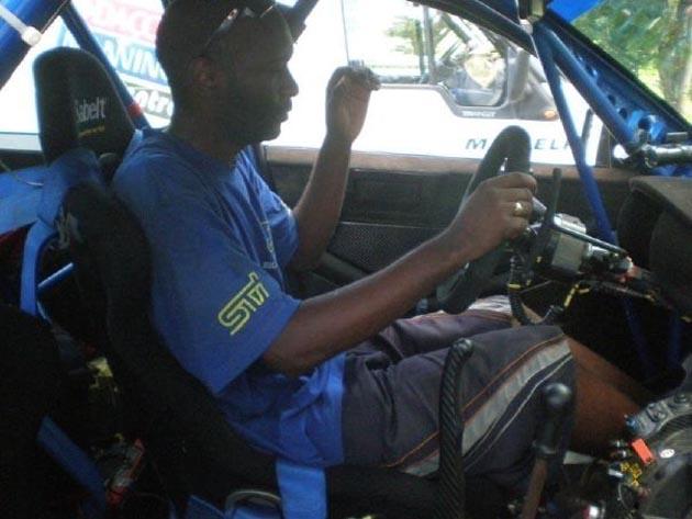 subaru rally car interior