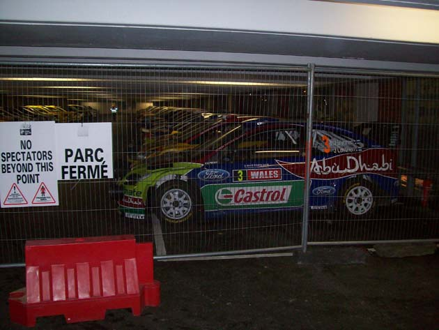 Parc Firme at Wales Rally GB