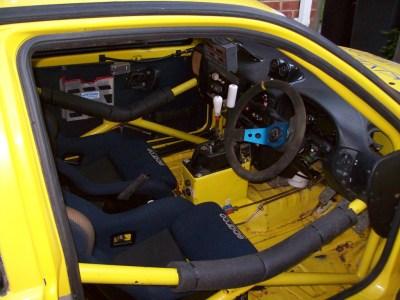 A look inside the bespoke Seat