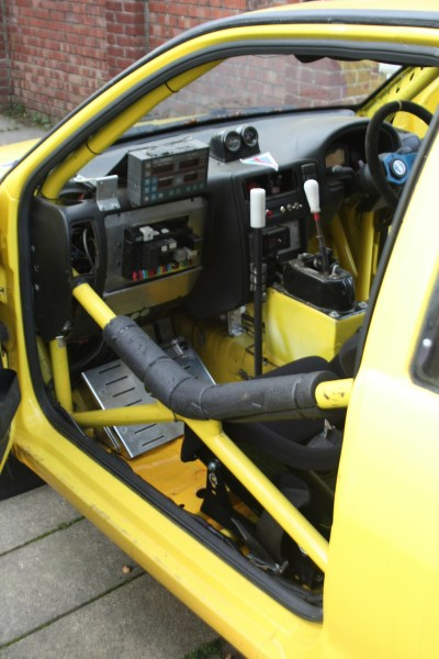 RHD rally car