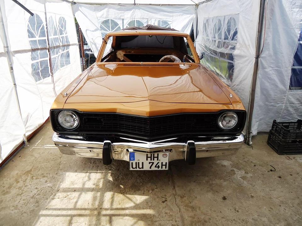 Bodo's Dodge Dart almost finished