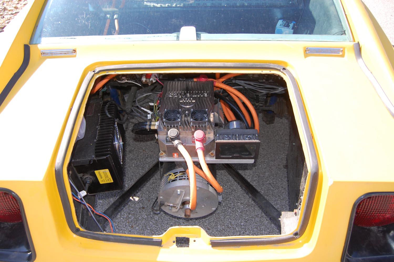 """Bradley GT EV """"engine"""" bay"""