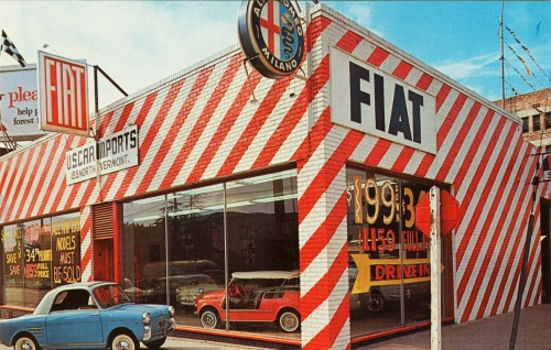 US Car Imports, Fiat & Alfa Romeo, Los Angeles, CA | image: Alden Jewell