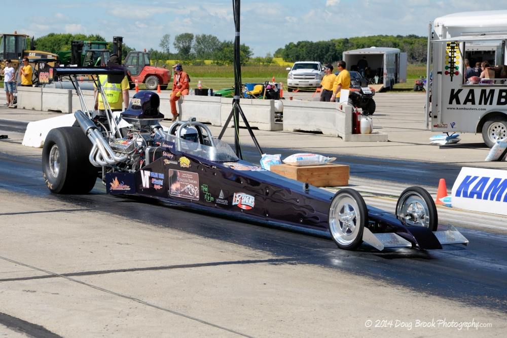 drag racing rail