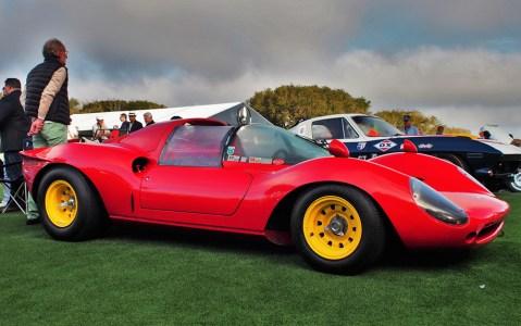 Ferrari 206SP. Photo credit: Harvey Sherman.