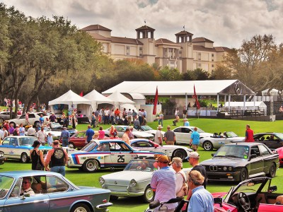 Sights of the Amelia Island Concours. Credit: Harvey Sherman.
