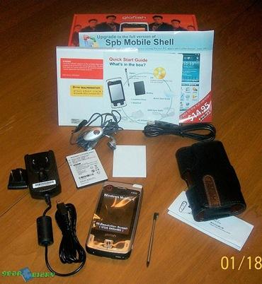 E-TEN X800 Windows Mobile Device