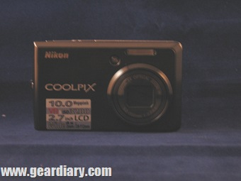 Nikon coolpix face