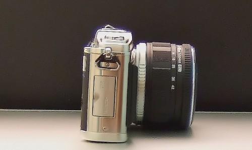 Olympus E-P1 Zoom