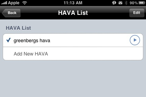 i-Hava Account