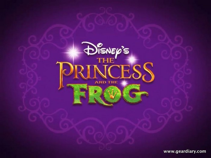 Disney Princess & the Frog Digital iPad Book Review