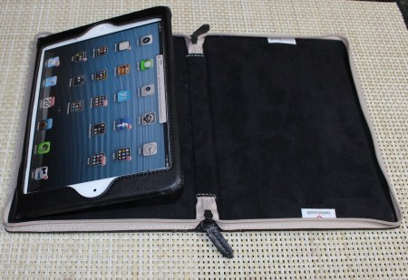 Gear Diary BookBook iPad mini Twelve South 08