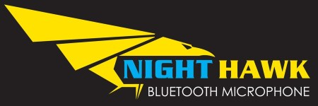 Nighthawk Bluetooth Mic Logo Web