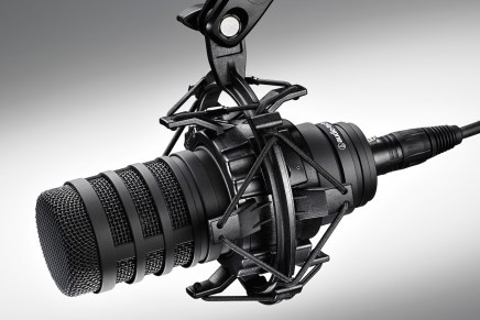Audio Technica introducing the BP40 Large Diaphragm Broadcast Microphone