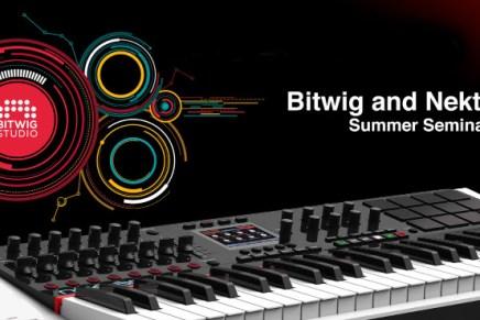Bitwig and Nektar host UK Summer Seminars 2015