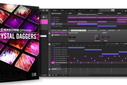Native Instruments introduces Crystal Daggers Maschine Expansion