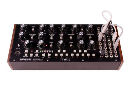 Moog Music announces the Mother-32 semi-modular synthesizer