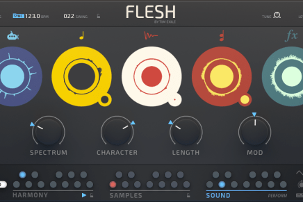 Native Instruments introduces FLESH
