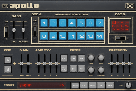 UVI announces Prototype Series instruments PX Apollo