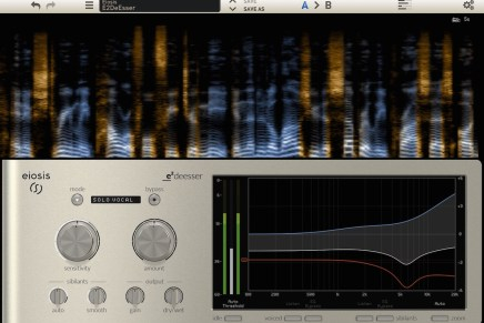 Eiosis Announces the E2Deesser and Air and Earth modules for the Slate Digital Virtual Mix Rack