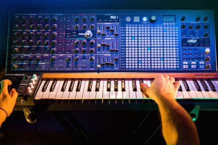 Arturia is proud to introduce its innovative MatrixBrute Analog Synthesizer