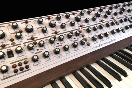 Axcore first hardware synthesizer build by Synth-Project.de