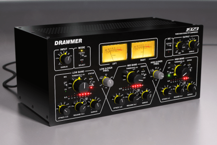 Softube announces availability of Drawmer 1973 Multi-Band Compressor plug-in