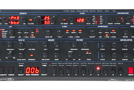 Dave Smith Announces OB-6 Desktop Analog Synth Module