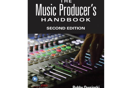 Hal Leonard Publishes the Music Producer's Handbook – Second Edition