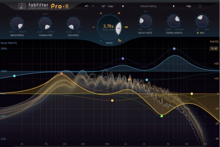 FabFilter Pro-R reverb software – Gearjunkies review