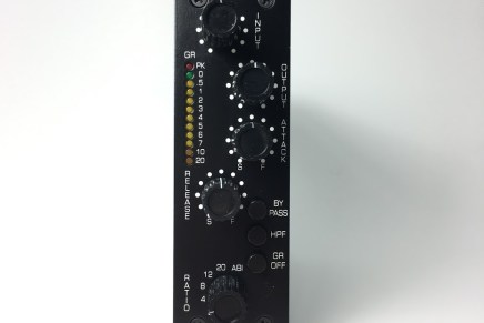 BAE Audio unveils new 500C FET compressor and R53 500 series rack