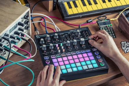 Novation announces Circuit Mono Station paraphonic analogue synthesizer at Superbooth 2017