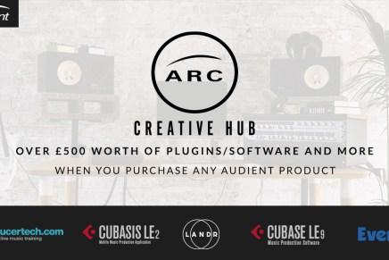 Audient Unveils ARC – The Creative Hub