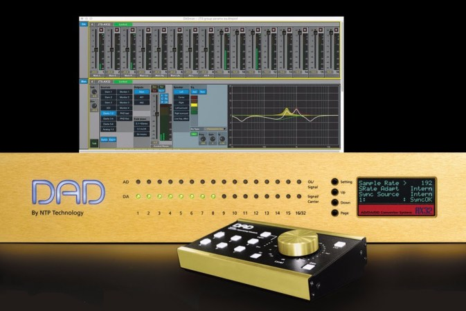 NTP Technology introduces new DAD Pro | Mon | 3 monitor control software for the AX32