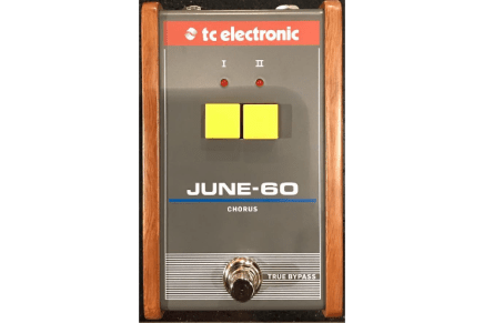 TC Electronic shows June-60 Chorus pedal