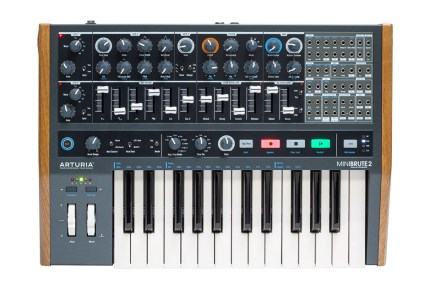Arturia announces the MiniBrute 2 analog mono synthesizer