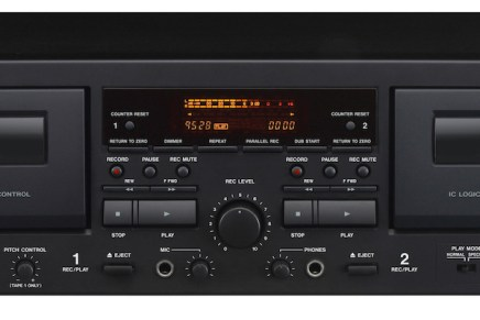 Tascam unveils 202mkVII dual cassette deck with USB